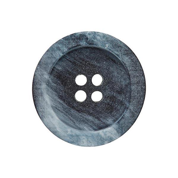 Bouton polyester 4 trous – bleu marine