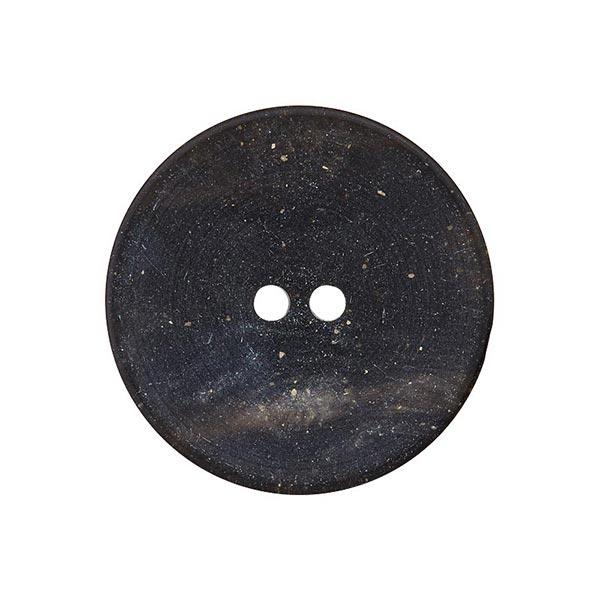 Bouton polyester 2 trous – noir