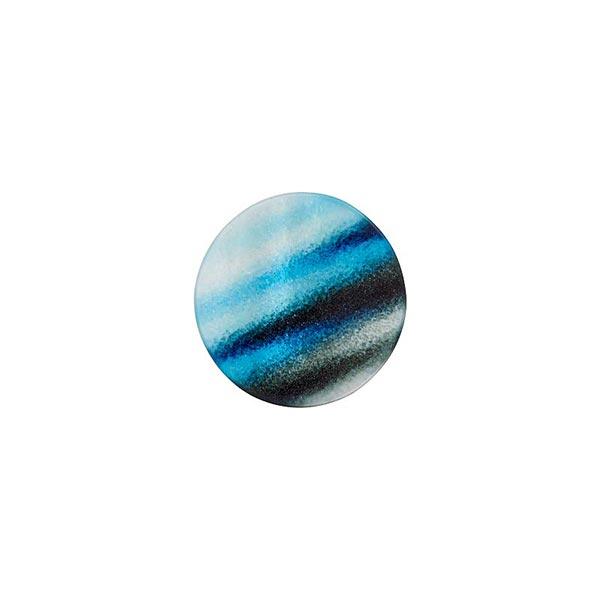Bouton à queue polyester [ 10 mm ] – bleu roi
