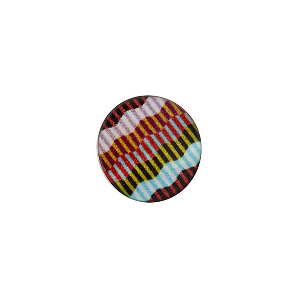 Bouton à queue polyester [ 10 mm ] – mélange de couleurs
