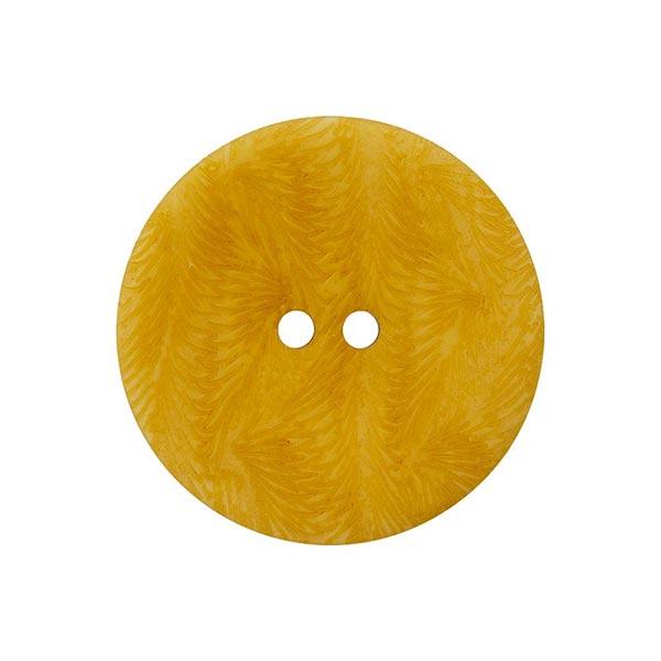 Bouton corozo 2 trous [ 15 mm ] – jaune