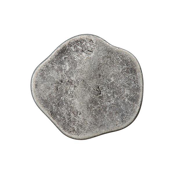 Bouton en métal œillet – gris