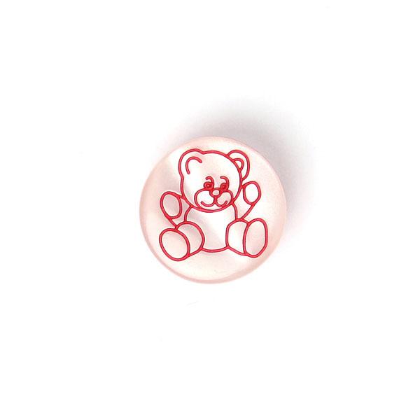 Bouton en plastique, Brilliant Teddy 48