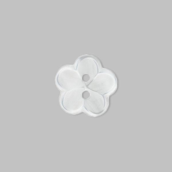 Bouton en plastique, Brilliant Flower 12