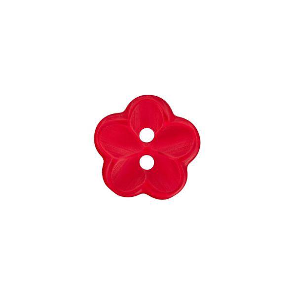 Bouton en plastique, Brilliant Flower 48