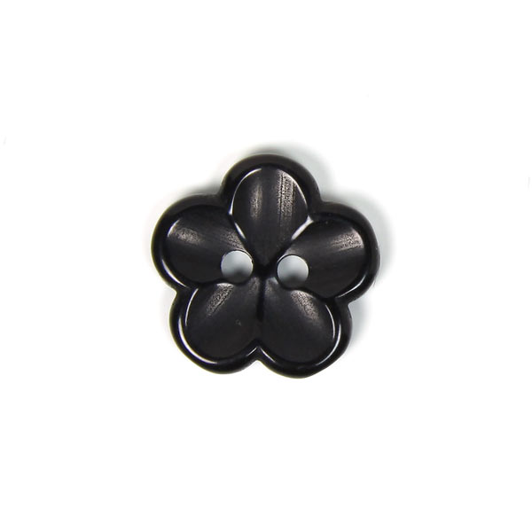 Bouton en plastique, Brilliant Flower 80