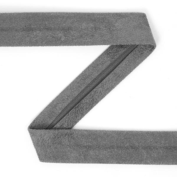 Bande pliée - Imitation daim 3 – gris