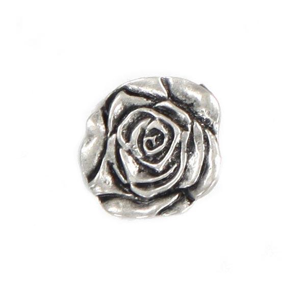 Bouton en métal Rose