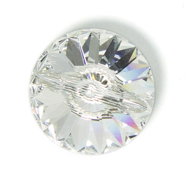 Bouton verre «Swarovski Crystal»
