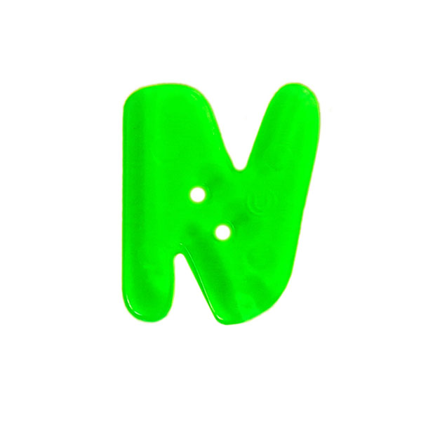 Bouton lettre fluo – N
