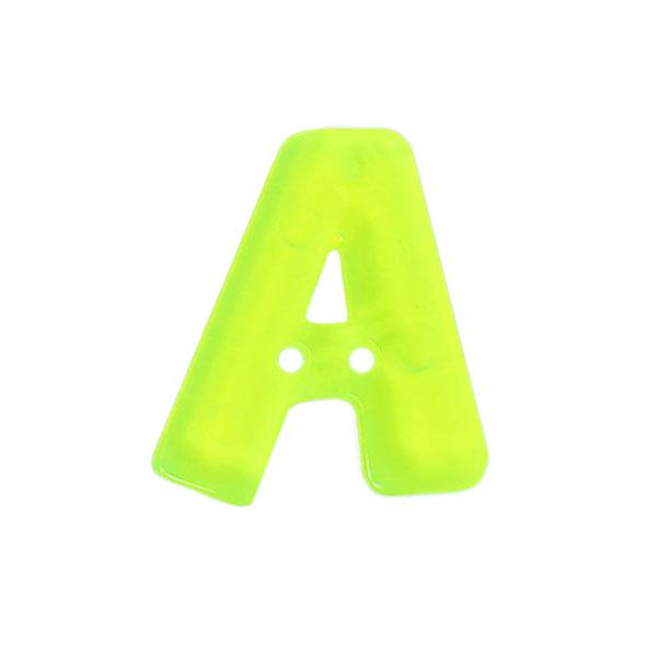 Bouton lettre fluo–A