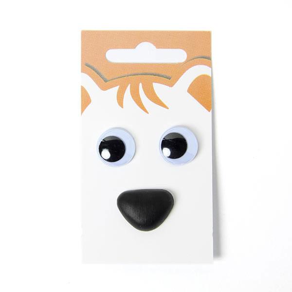 Yeux vacillants / nez d'animaux - kit 4