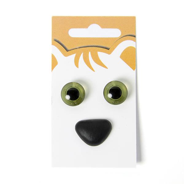 Yeux d'animaux / nez d'animaux - kit 9