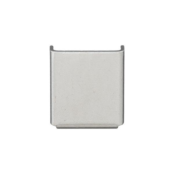 Extrémité de cordelette [8 mm] - argenté