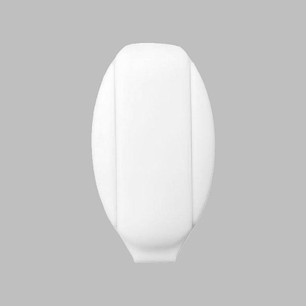 Extrémité de cordon - Clip, 7 mm | 1 – blanc