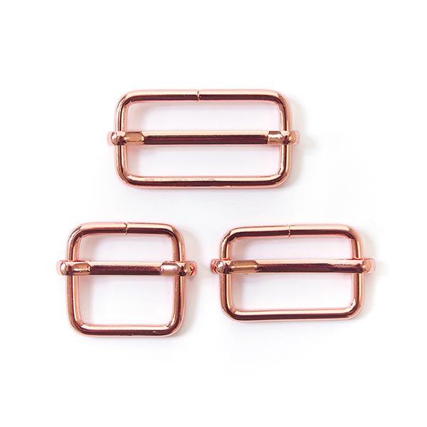 Boucle métallique Rosé - or rose