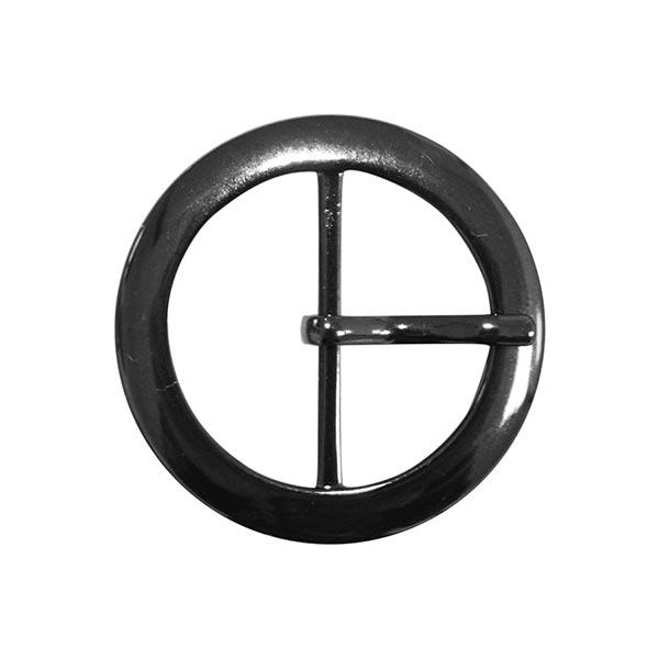 Boucle métallique avec ardillon [Ø 32 mm] - anthracite