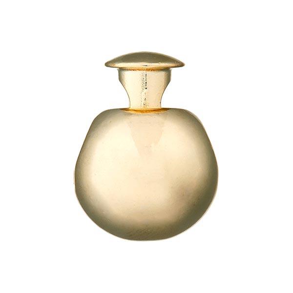 Bloqueur de cordon métallisé sensual [15 mm] - doré