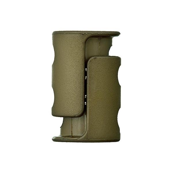 Bloqueur de cordon / passage 6mm – olive