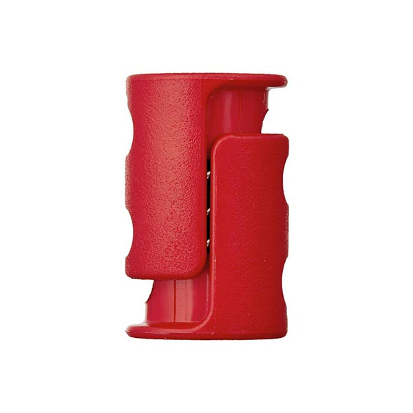 Bloqueur de cordon / passage 6 mm – rouge