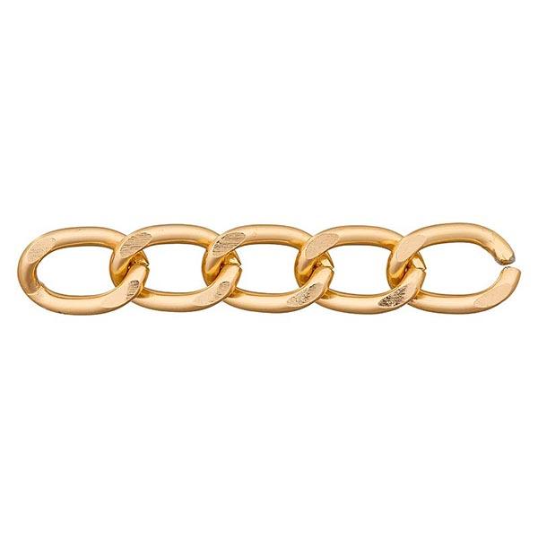 Gliederkette [12mm] – gold