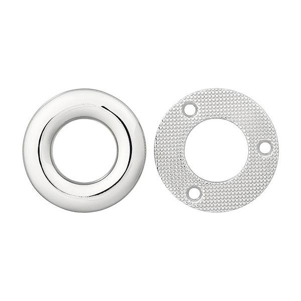 Metallöse – silber
