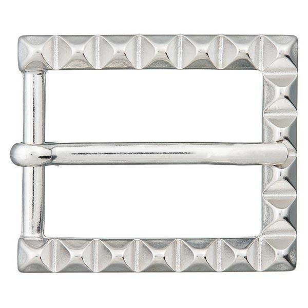 Boucle en métal [ 25 mm ] – argent