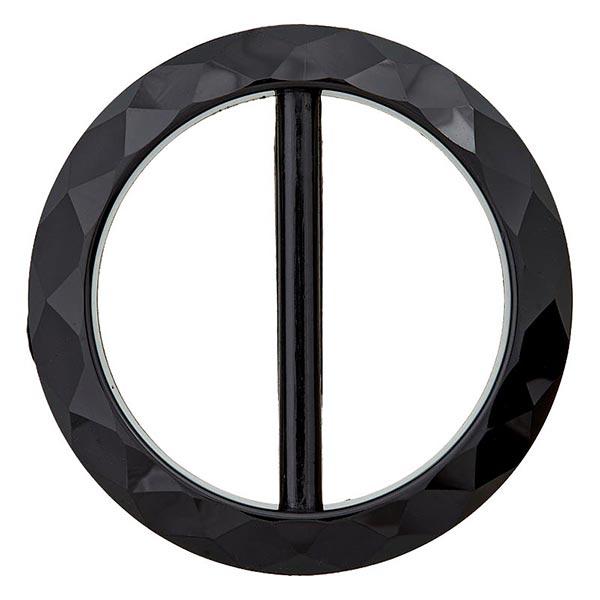 Boucle polyester – noir