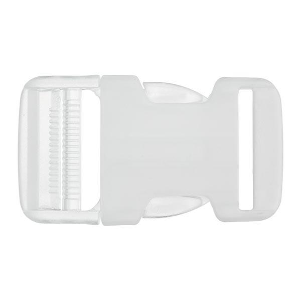 Rucksackschließe fluoreszierend  – transparent
