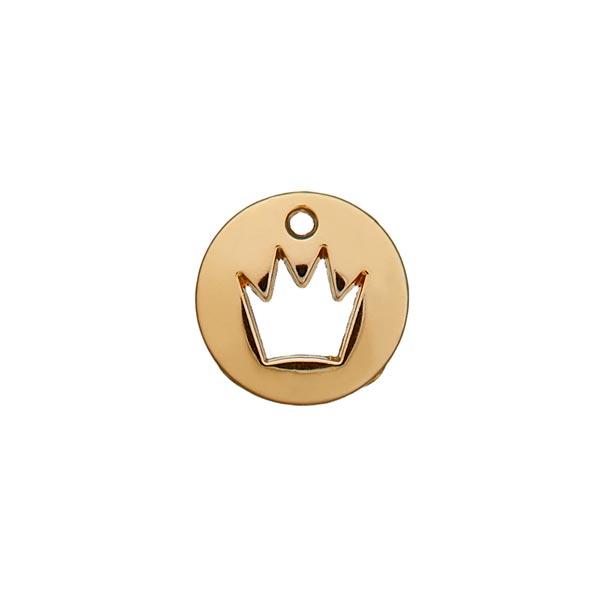 Zierteil Krone [ Ø 12 mm ] – gold