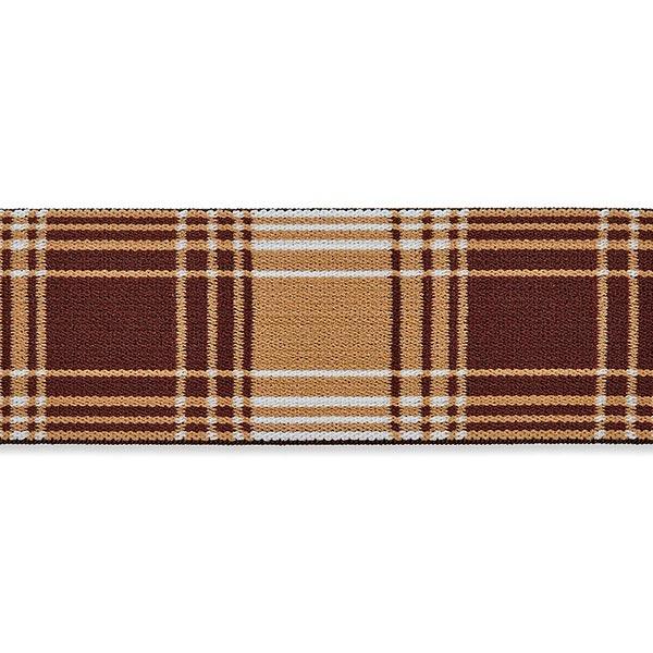 Ruban élastique [ 40 mm ] – beige/marron