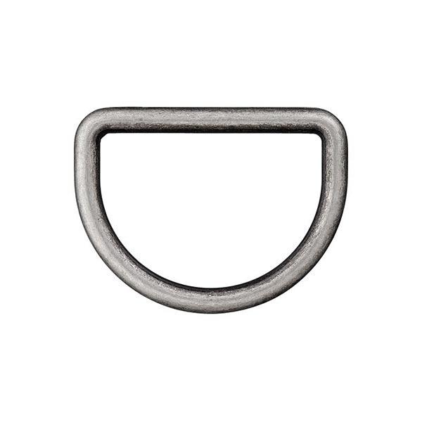 Anneau D métal 833