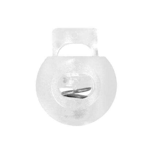 Kordelstopper [Ø 8 mm] - transparent