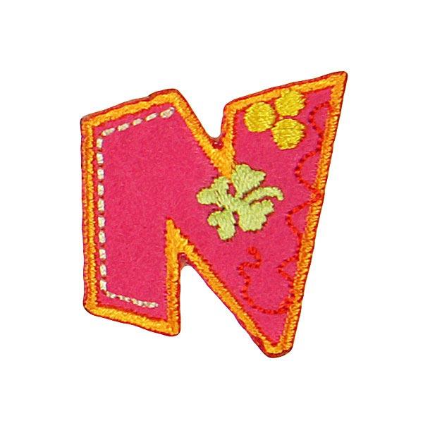 Application à lettre, N