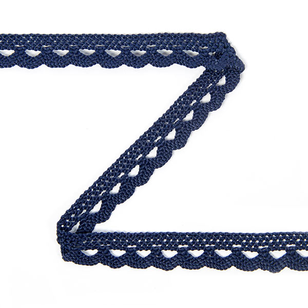 Dentelle au fuseau (10 mm) 13 – bleu marine