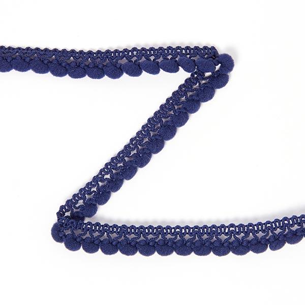 Galon à pompons [10 mm] - bleu marine