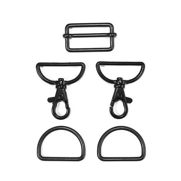 Accessoires pour sacs Set [ 5-pièces | 30 mm] – anthracite