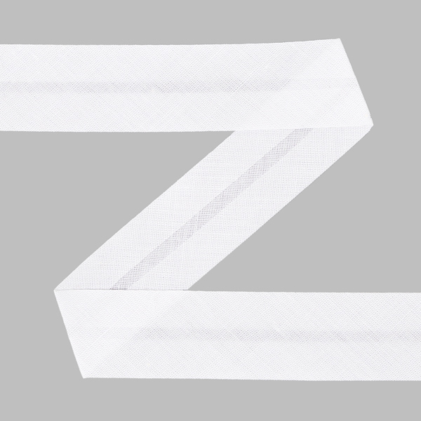 Biais, 20 mm - blanc