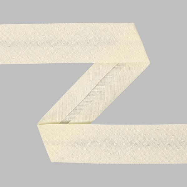 Biais, 20 mm - blanc cassé