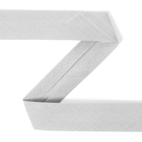 Biais, 20 mm - gris clair