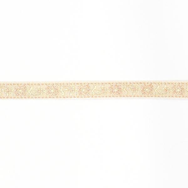 Galon jacquard Folklore [10 mm] - vieux rose