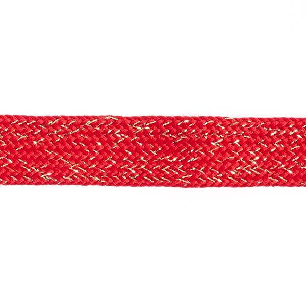 Ruban tressé Bold [23 mm] - rouge