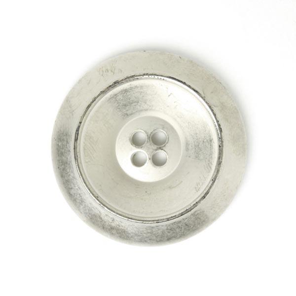 Bouton en plastique Metallic