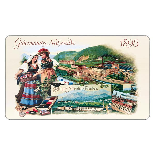 Kit fils à tout coudre Nostalgicbox 1895 [ 100m   48 Pièces ]   Gütermann creativ