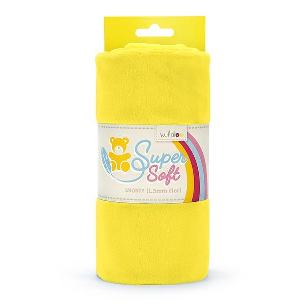 Nicki SHORTY [1 m x 0,75 m | Flor: 1,5 mm] 13 - gelb | Kullaloo