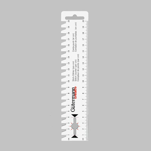 Handmaß [20 cm] - weiss | Gütermann creativ