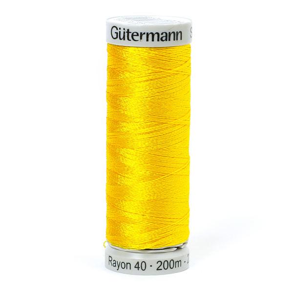 Rayon 40 Fil à broder machine (1023) | 200 m | Gütermann