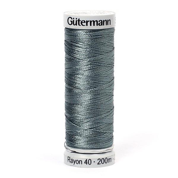 Rayon 40 Fil à broder machine (1041) | 200 m | Gütermann