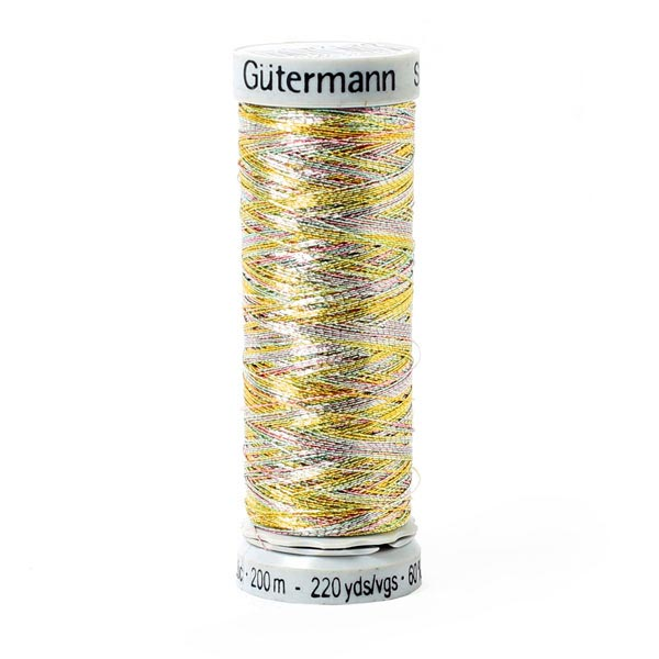 Metallic Metalleffektfaden (7020) | 200 m | Gütermann -  Farbmix