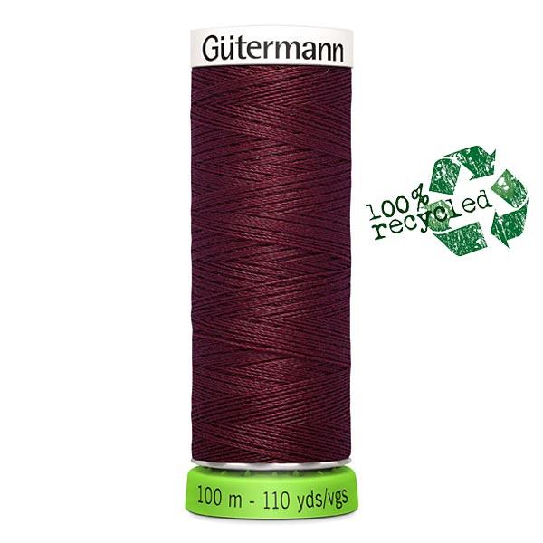 Fil à tout coudre rPET [369] | 100 m  | Gütermann – rouge bordeaux